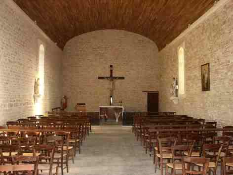 La ch vrerie canton de villefagnan 16 histoire glise - Fausse pierre apparente interieur ...