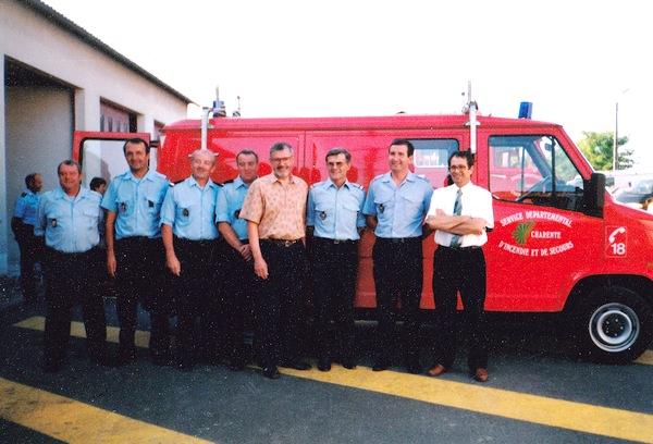 Histoire pompiers villefagnan de 1948 1996 for Garage peugeot ruffec