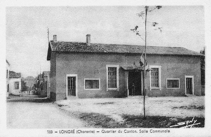 Commune de longr en charente histoire glise chateau for Agence chabut brive